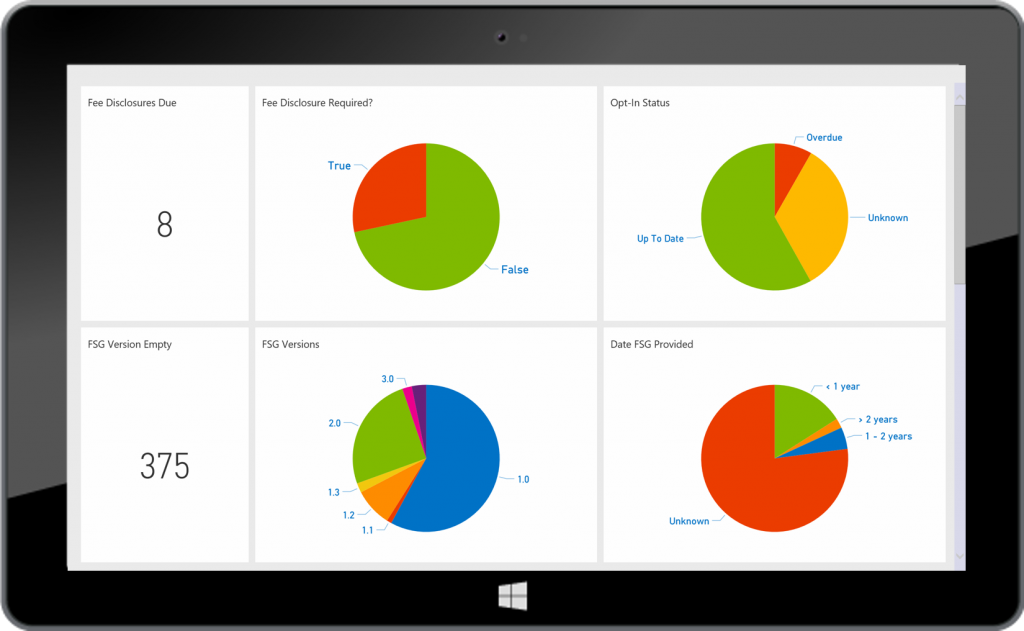 Fin 365 - Financial Planning Compliance Reporting