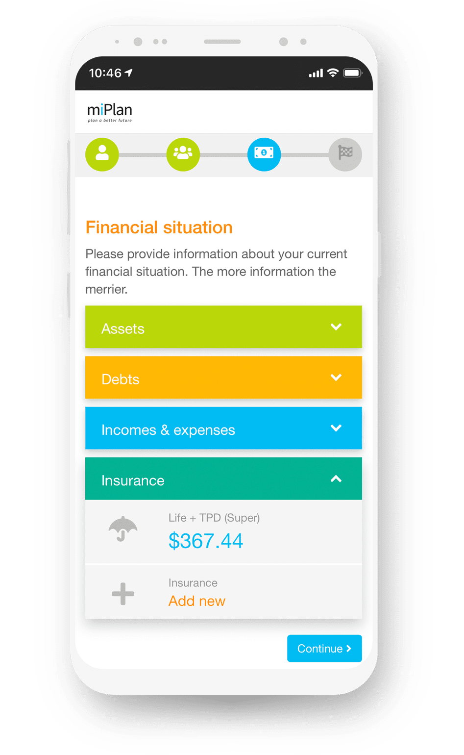 Fin365's Financial Planning Software